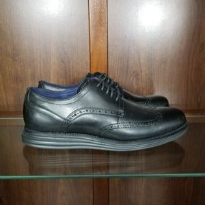 Cole Haan Original Grand Shortwing Oxford Leather